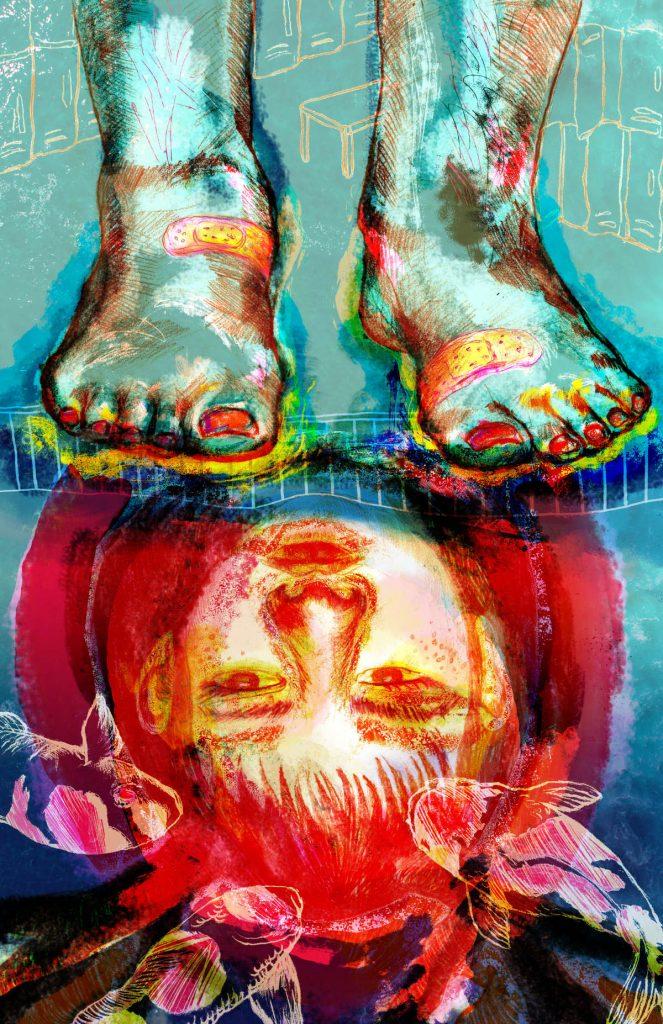 Fish Feet Illustration by Mimi Xuan